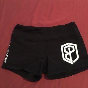 Born primitive work out shorts